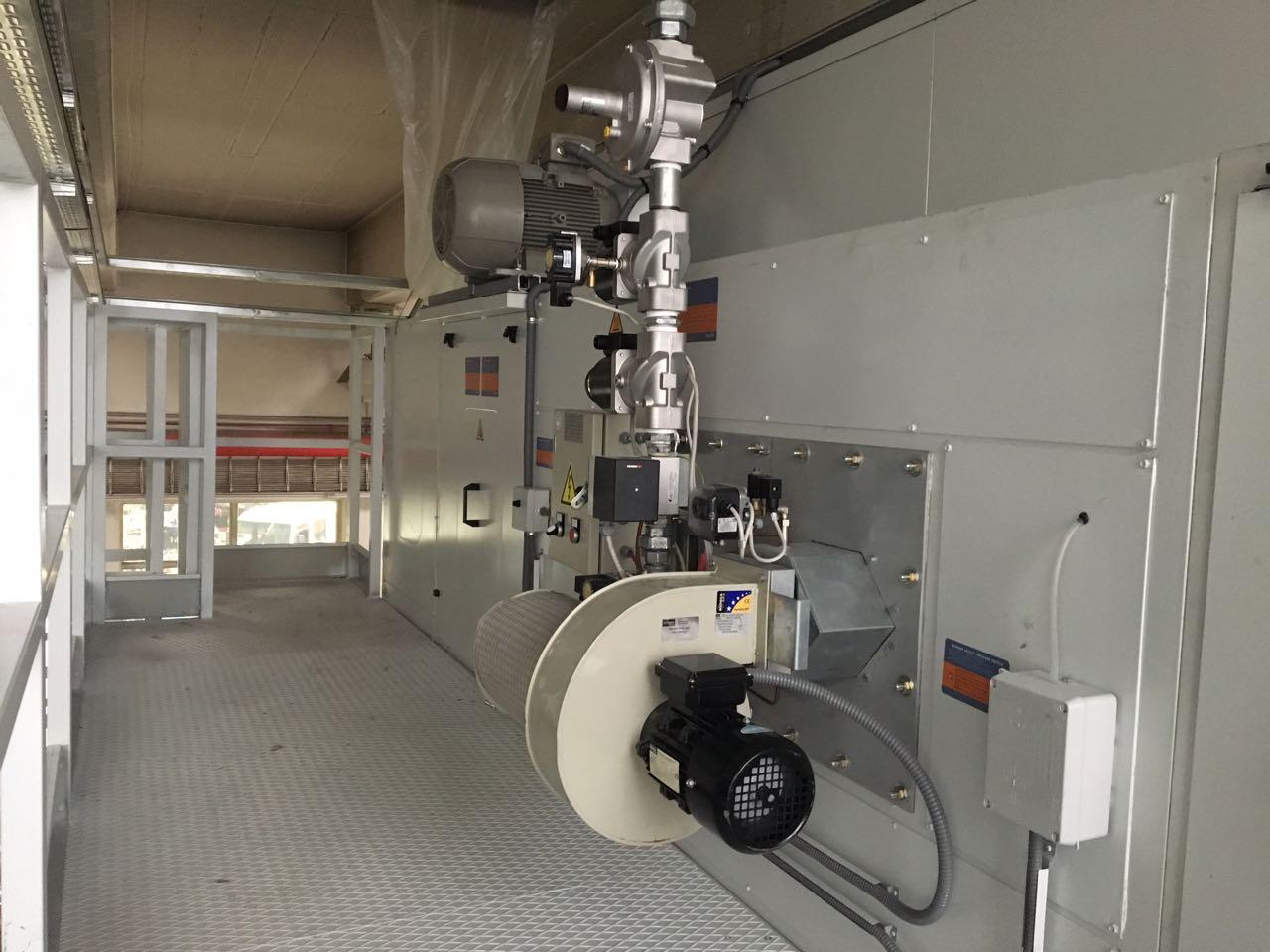 Umrüstung der großen Lackieranlage bei DSW21