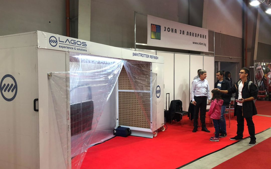 Our paintTROTTER Refinish at Automotive Expo Sofia