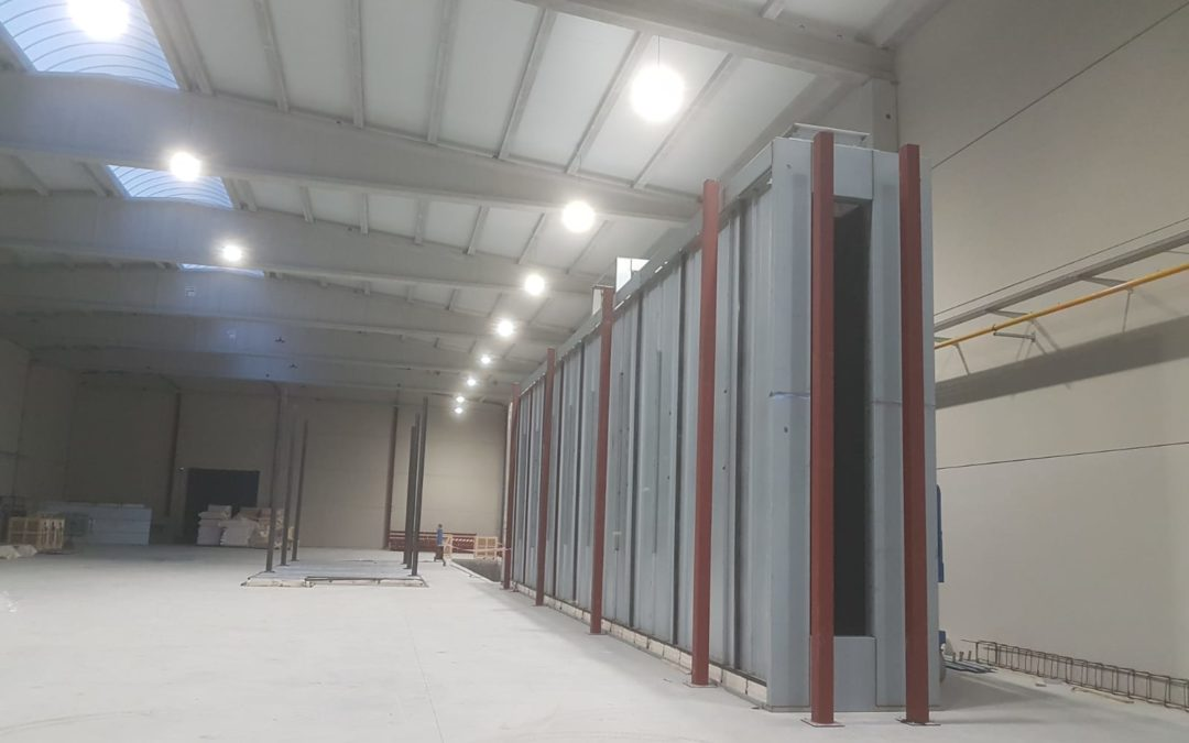 New Powder Coating Proyect Starting in Spain